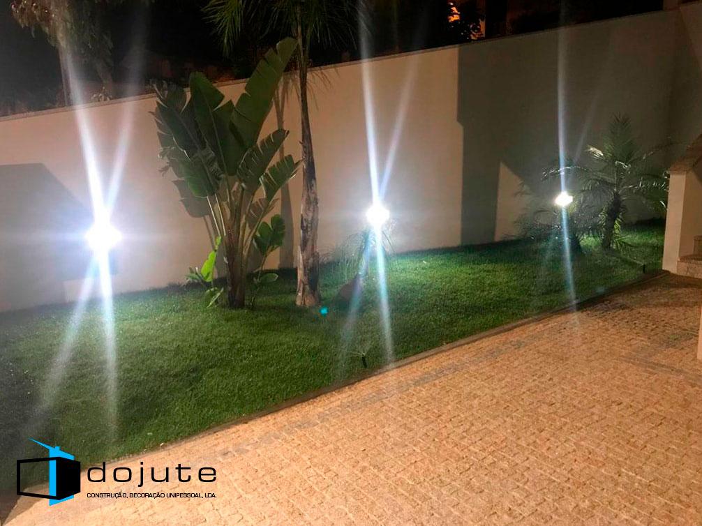 Iluminação do Jardim